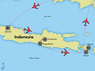 15 Day Indonesia: Java & Bali | Visit Denpasar, Jakarta ...