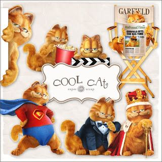 SUPER FREEBIES Blog: Freebies Cool Cat Kit