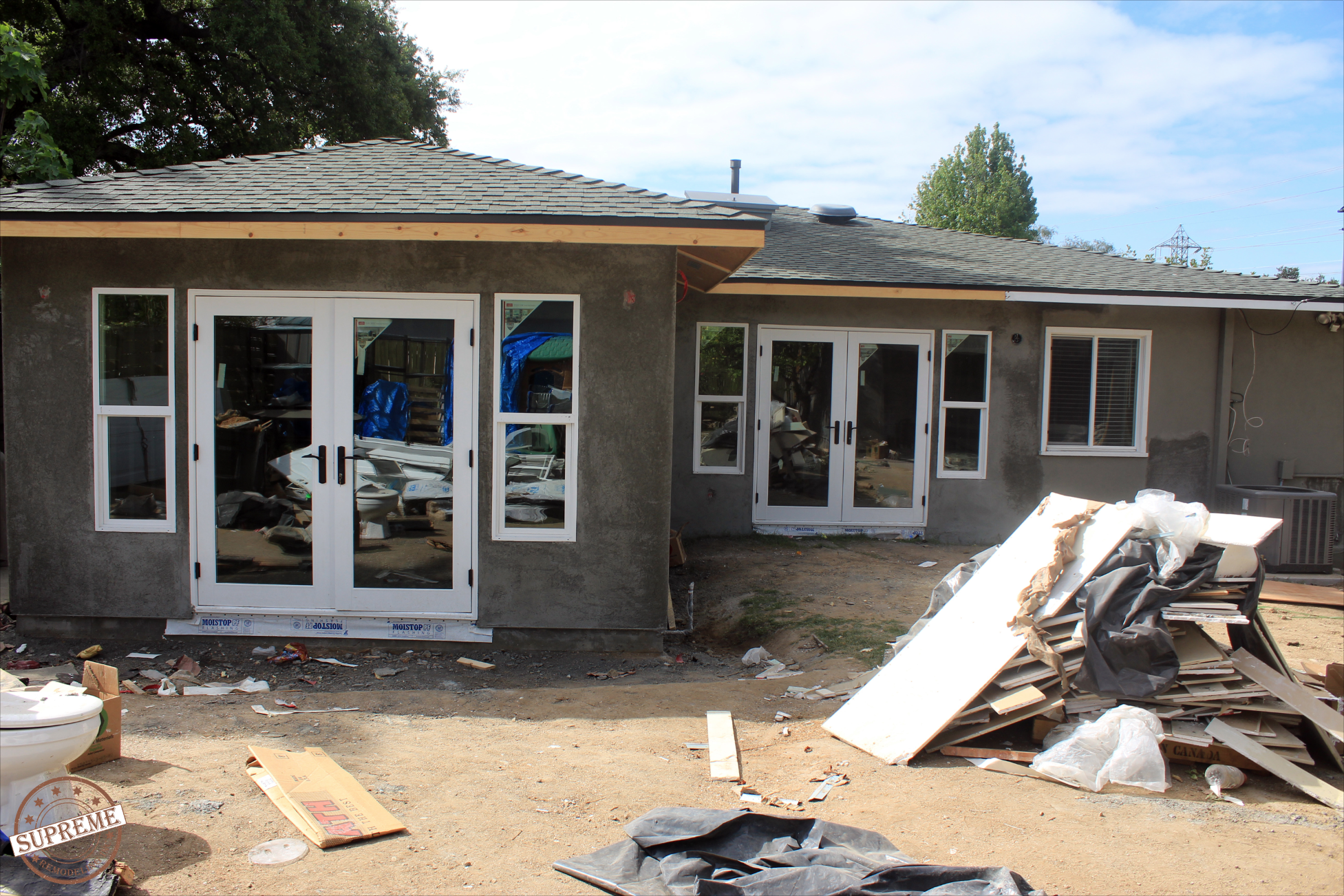 Home Remodeling with addition by Supreme Remodeling Pasadena, CA 2015   Home remodeling, Patio ...