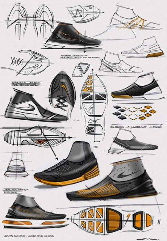 A great project from designer, Justin Lambert - A personal project based  around orthopedic design in footwear.