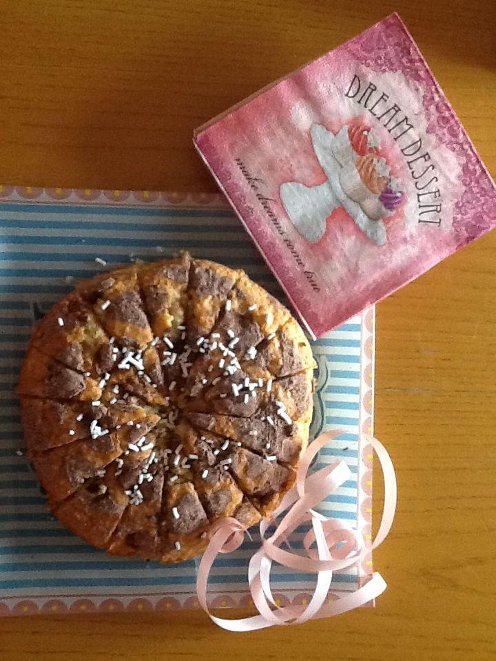 Torta di pere con farina di cocco : una delizia!#cucinaconjole#tortadi pere#dolci