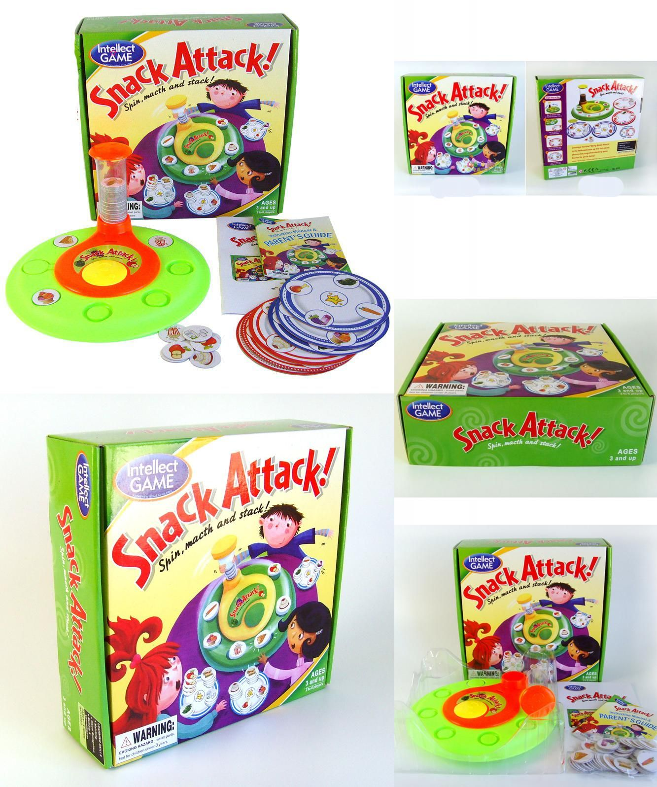 Visit to Buy] SNACK ATTACK Board Game English Version Board Games