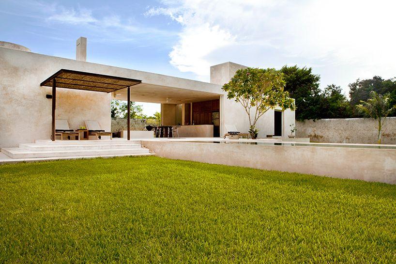 Modern Haciendastyle Guest House Haciendas Architecture and