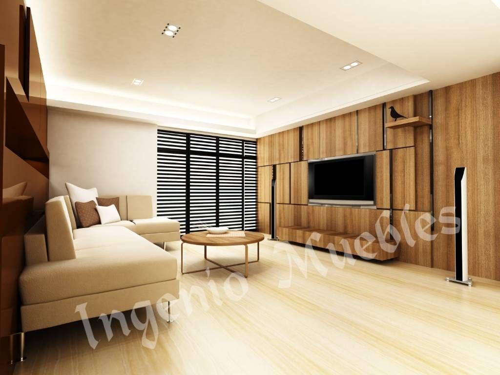 Ideas, imágenes y decoración de hogares   Salas multimedia ...