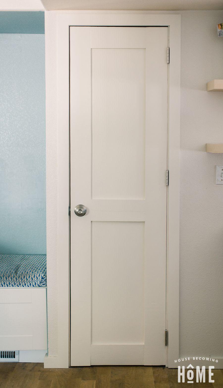 Diy Two Panel Shaker Style Door How To Build Tutorial