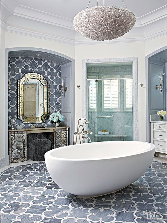 Beautiful bath trends to try neutral bathroom for Beautiful bathrooms