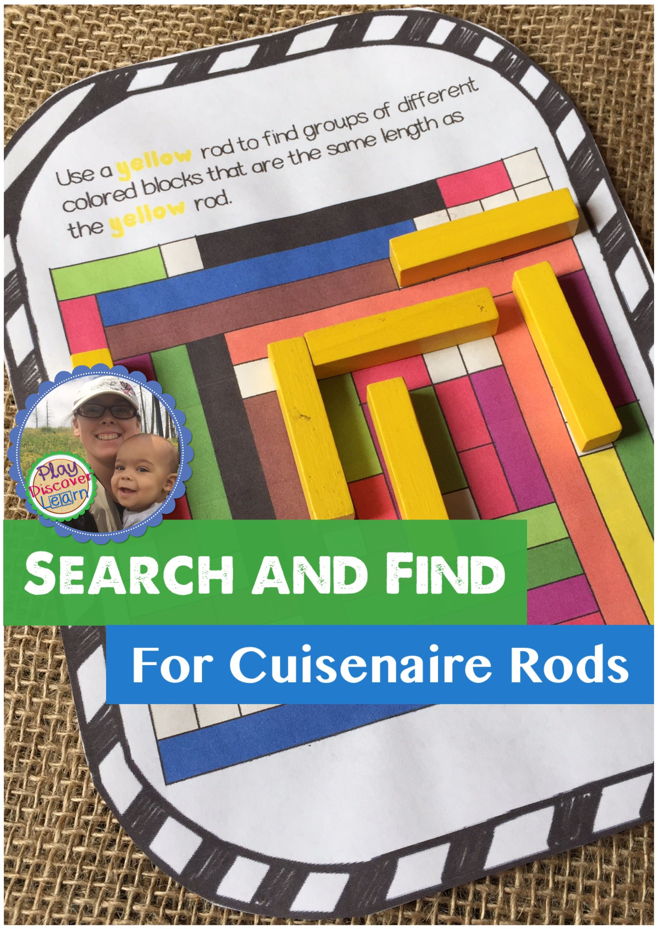 Pdl S Search And Find For Cuisenaire Rods