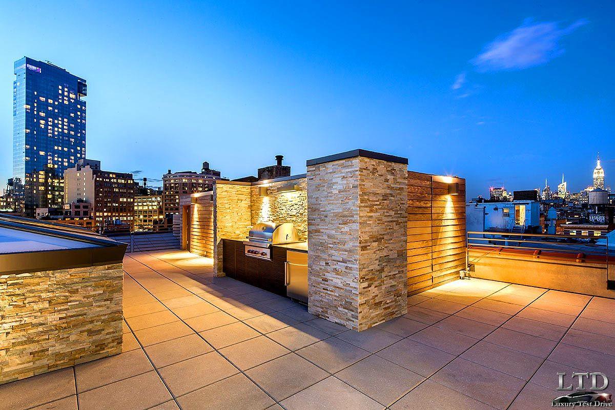 decoracion terrazas aticos con barbacoa - Buscar con Google | casa ...
