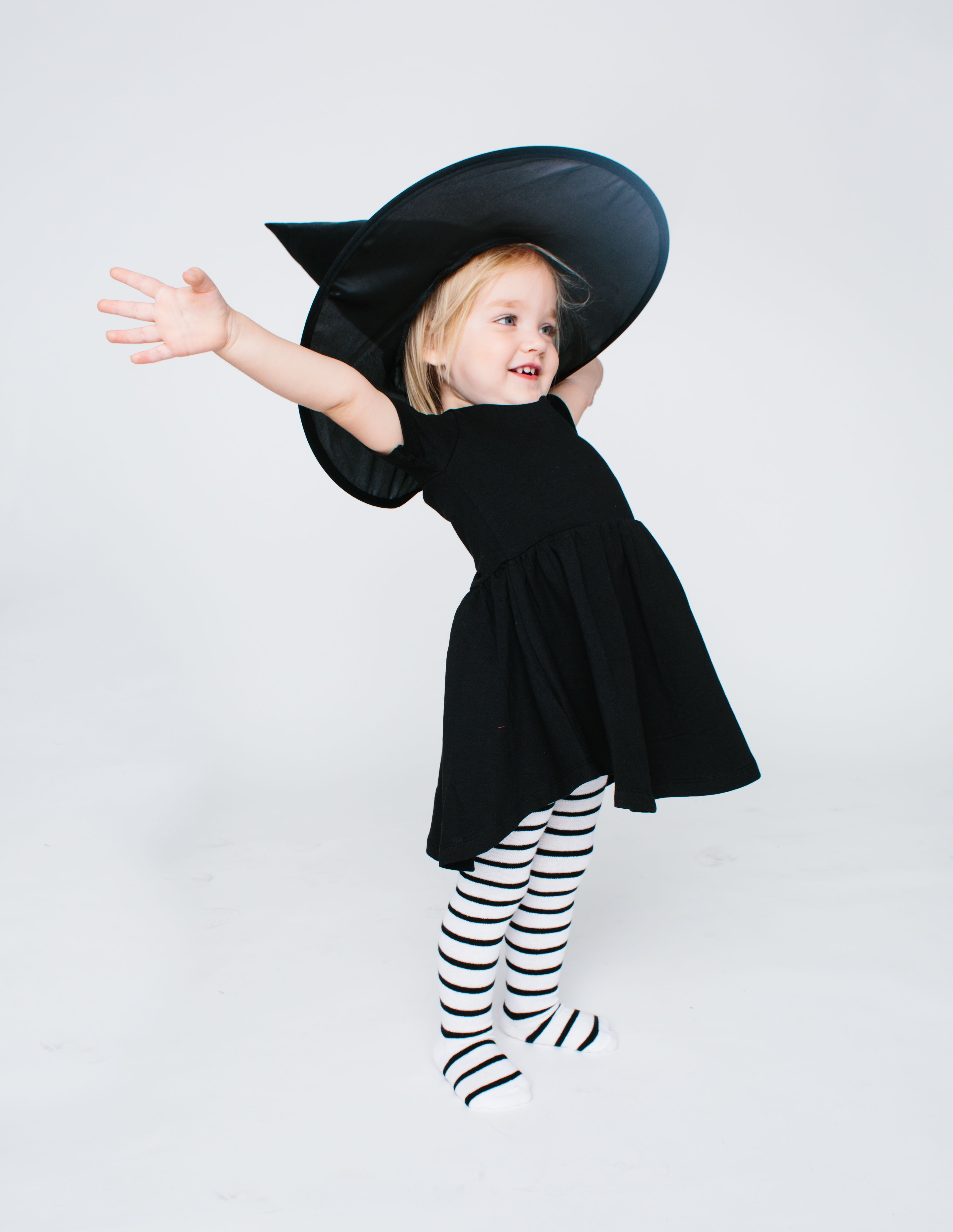 ac6f69445 The Knit Tights | holidays // Halloween. | Baby witch costume ...