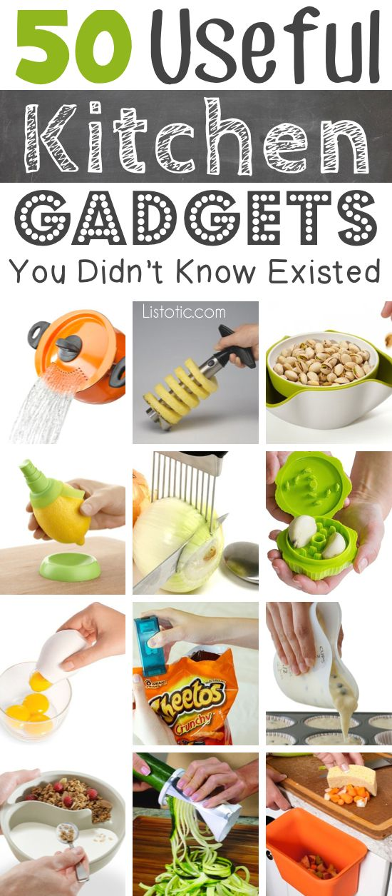 50 Cool Kitchen Gadgets Everyone Needs Cool Kitchen Gadgets