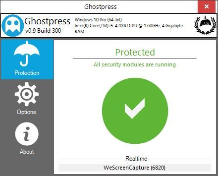 Ghostpress Free And Portable Anti Keylogger For Windows Windows Tips Tricks Software Prevention Learning