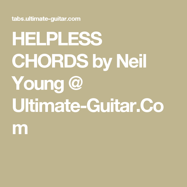 Pin By Sue Hart On Guitar Chords Pinterest Neil Young Guitars
