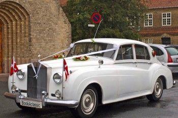 Bryllupskørsel Købehavn