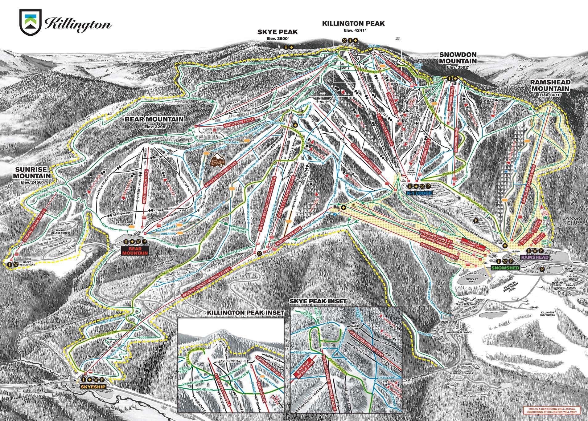 Killington Ski Resort in 2019 | Skiing | Killington resort ... on stowe ski map, lutsen mountains ski map, north carolina ski map, marmot basin ski map, breckenridge ski map, cannon mountain ski map, okemo ski map, pico ski map, wild mountain ski map, connecticut ski map, mount snow ski map, mount kato ski map, bradford ski map, shawnee peak ski map, bretton woods ski map, greek peak ski map, diamond peak ski map, snowshoe mountain ski map, 49 degrees north ski map, tyrol basin ski map,