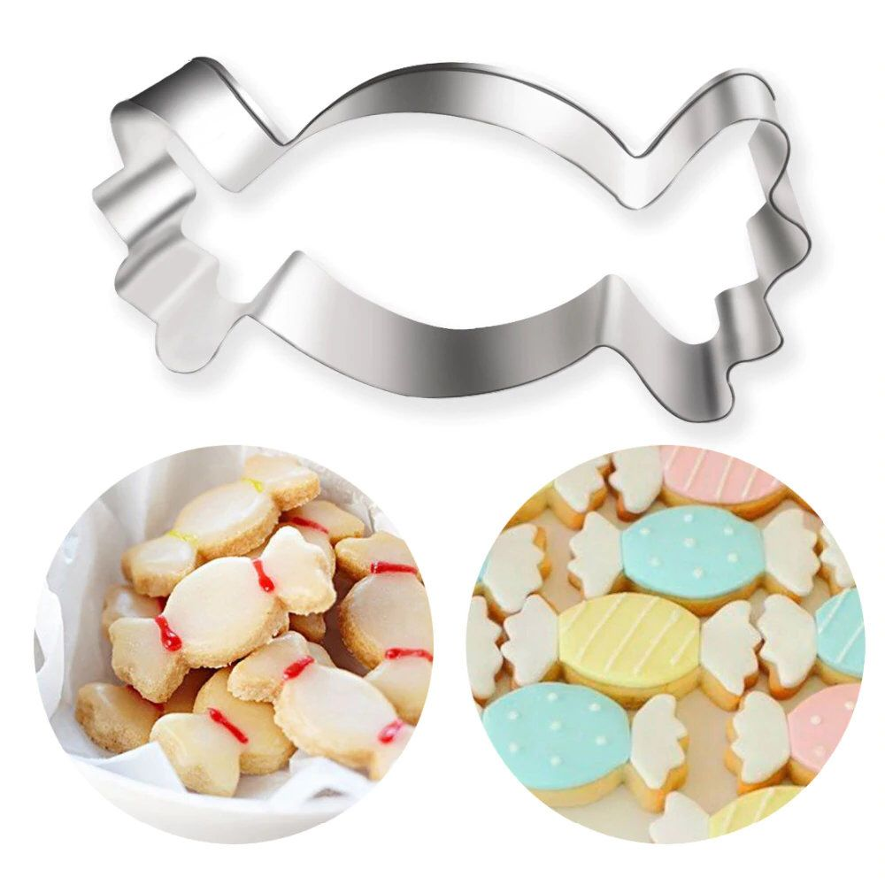Stainless Steel Cactus Shape Cookie Cutter Biscuit Mold Cake Decor Kitchen Tool