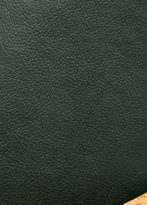 Leather Look Forest Green Fabric Offer The Look And Feel