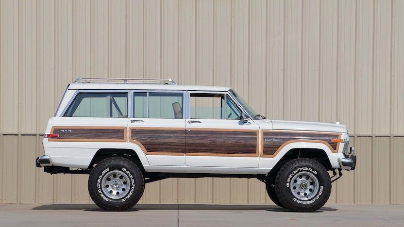 1988 jeep grand wagoneer custom 8 jeep grand jeep wagoneer classic jeeps pinterest