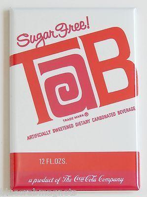 Tool Box Refrigerator Tab Soda Soda Can 1983 Advertising NEW Magnet