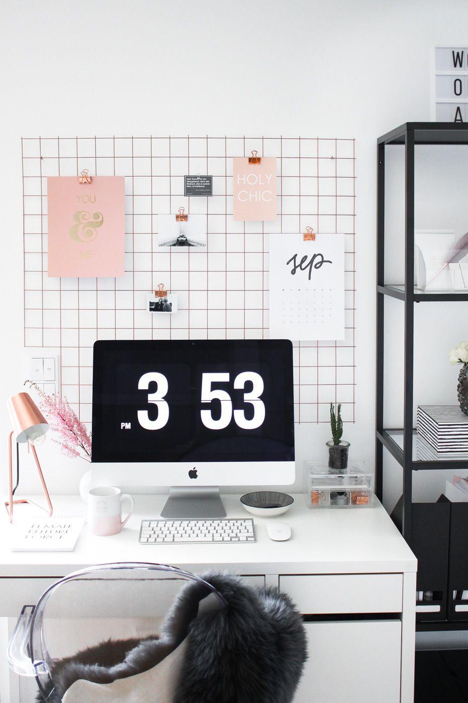 Lieblich Home Office | Heute Verrate Ich Euch, Wie Ich Von Zuhause Arbeite Und Wie