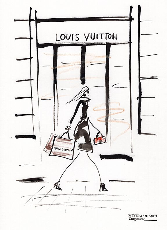 Louis Vuitton boutique »instagram