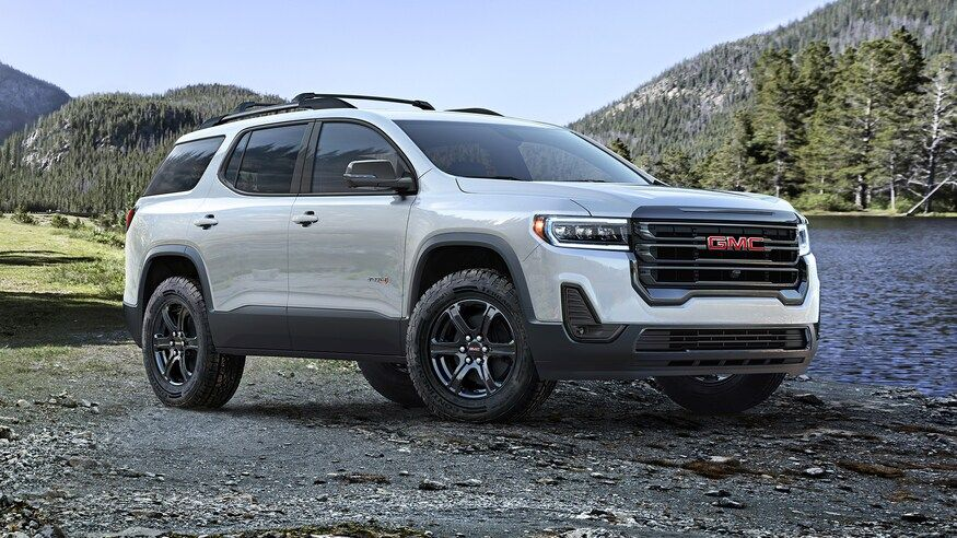 2020 Gmc Acadia At4 Off Road Review Looking The Part Best Suv Suv Gmc Suv