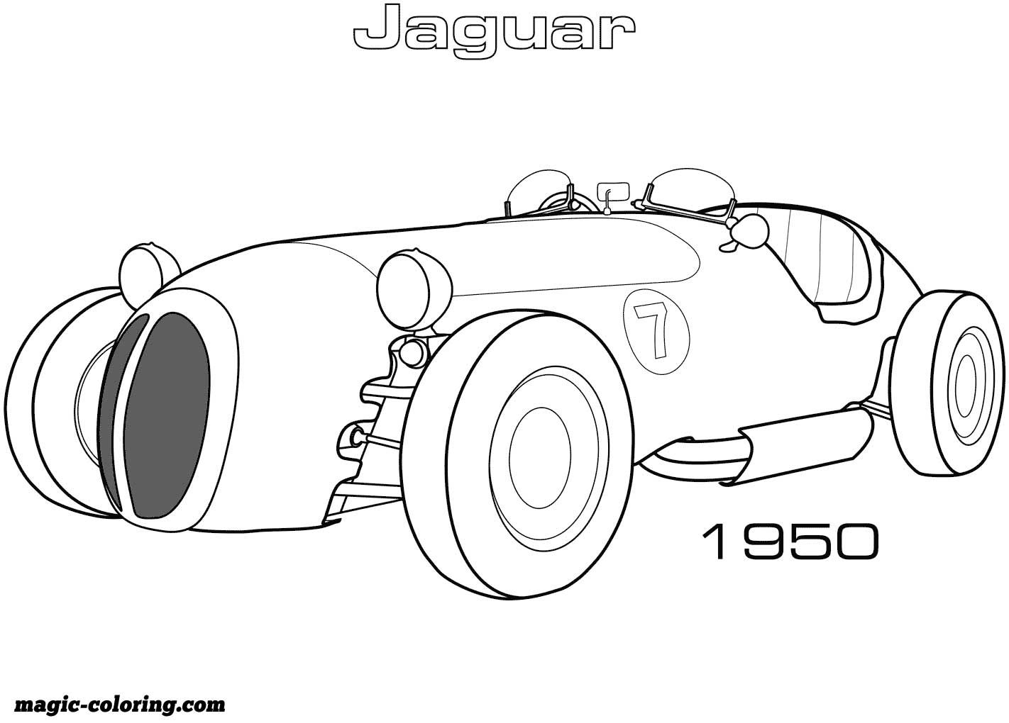 1950 Jaguar Xk 120 Alloy Roadster Coloring Page Don T Forget To
