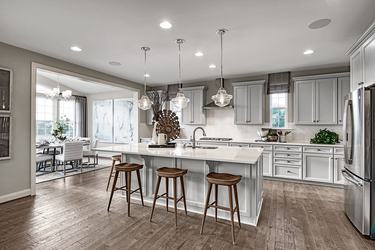 Abundant storage & counter space | Hopewell model home ... on Model Kitchen Images  id=43849