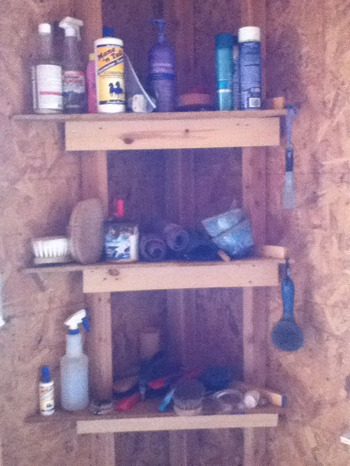 Barn Tack Room Pictures Need Some Ideas Page 4 Tack Room Tack Room Organization Horse Tack Rooms