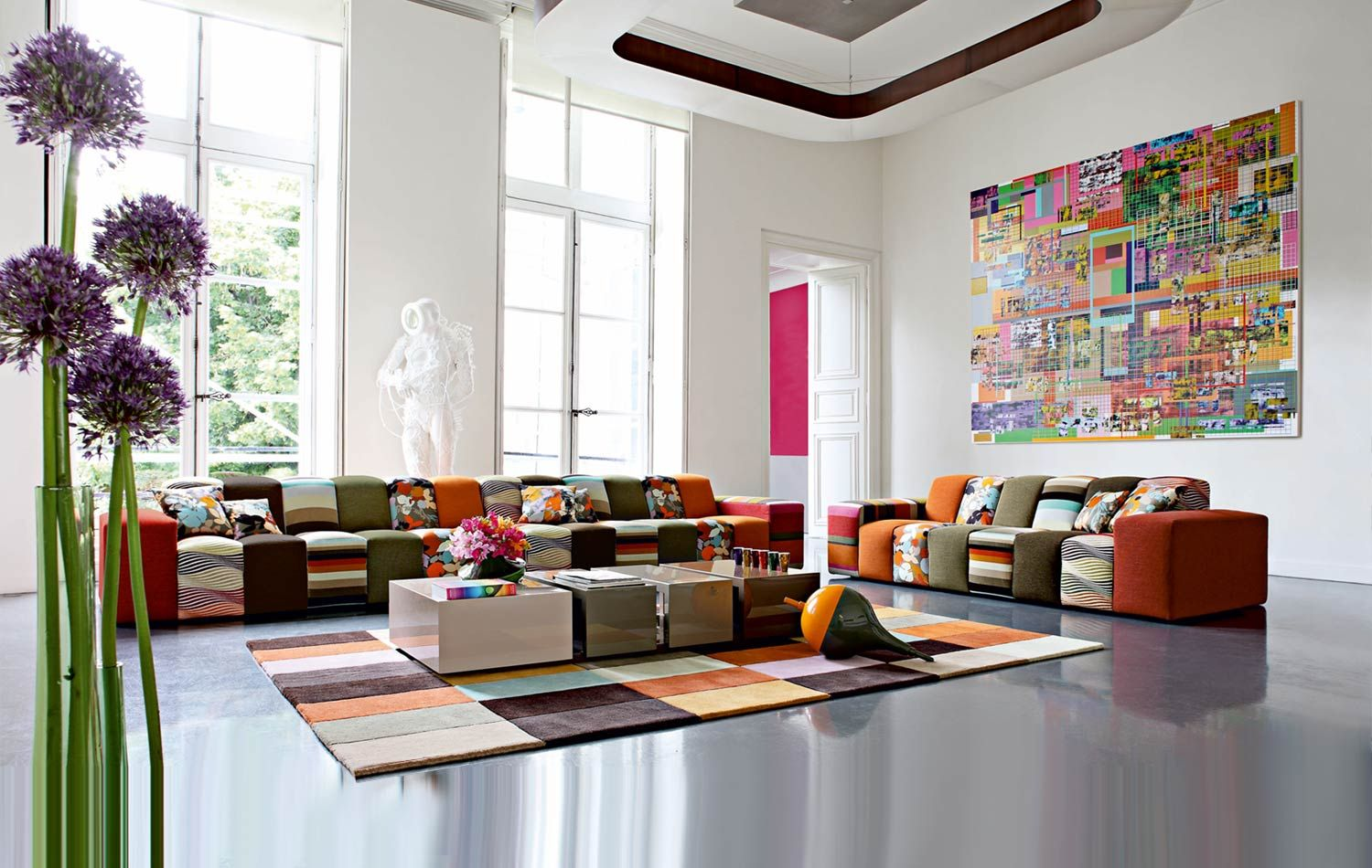 1000 images about canapes on pinterest modular sofa navy sofa and living rooms - Canape Colore