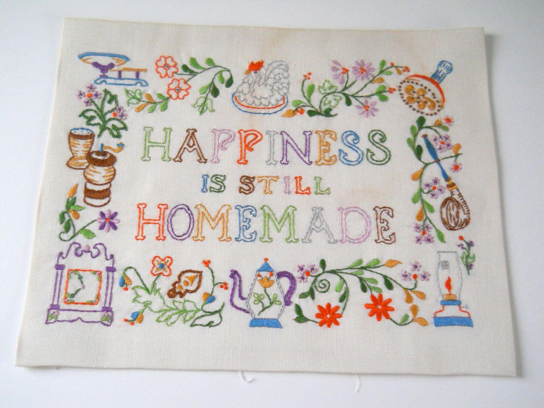 Vintage Embroidery Sampler | Meus bordados e trabalhos manuais ...
