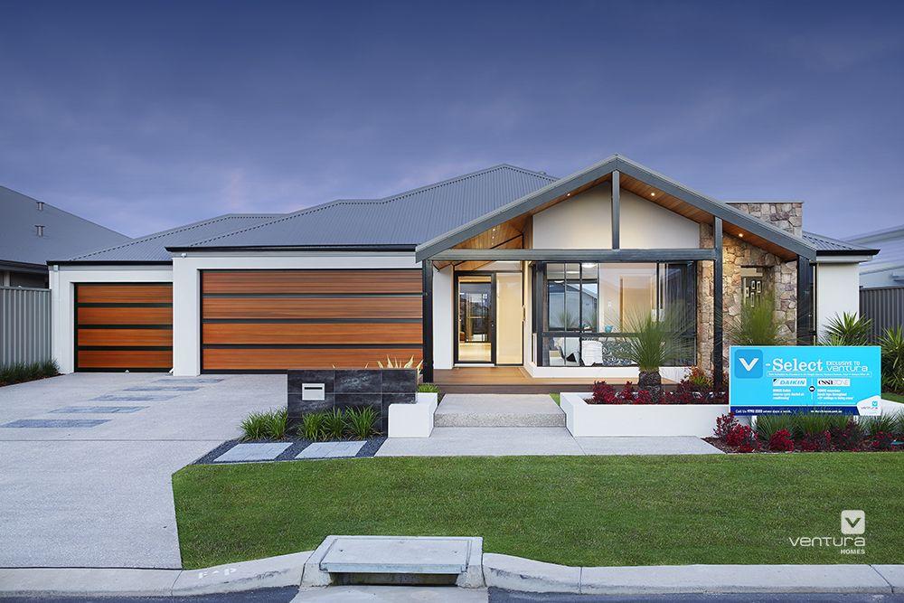 Exterior ideas modern single storey home facades for Exterior facade ideas