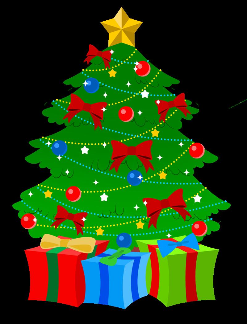 Free Christmas E Cards Cards Christmas Free Christmas Tree Images Christmas Tree With Presents Christmas Tree Clipart