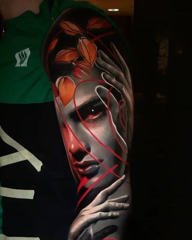 "@best_ink_tattoo_ shared a video on Instagram: ""Artist @waler_montero  #inkallday #inkedgirls #inkstagram #inklife #inkedmodel #inkedup #killerink #realistic #realistictattoo #artwork…"" • Aug 5, 2020 at 4:35pm UTC"