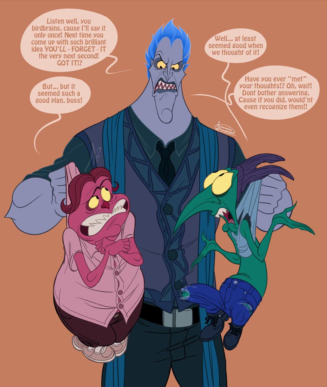 Disney Hercules_Your most lugubriousness... by ariel025 on DeviantArt