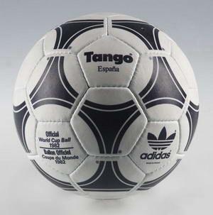 Historia de los balones del Mundial TANGO ESPAÑA82  137884ffb9cbe