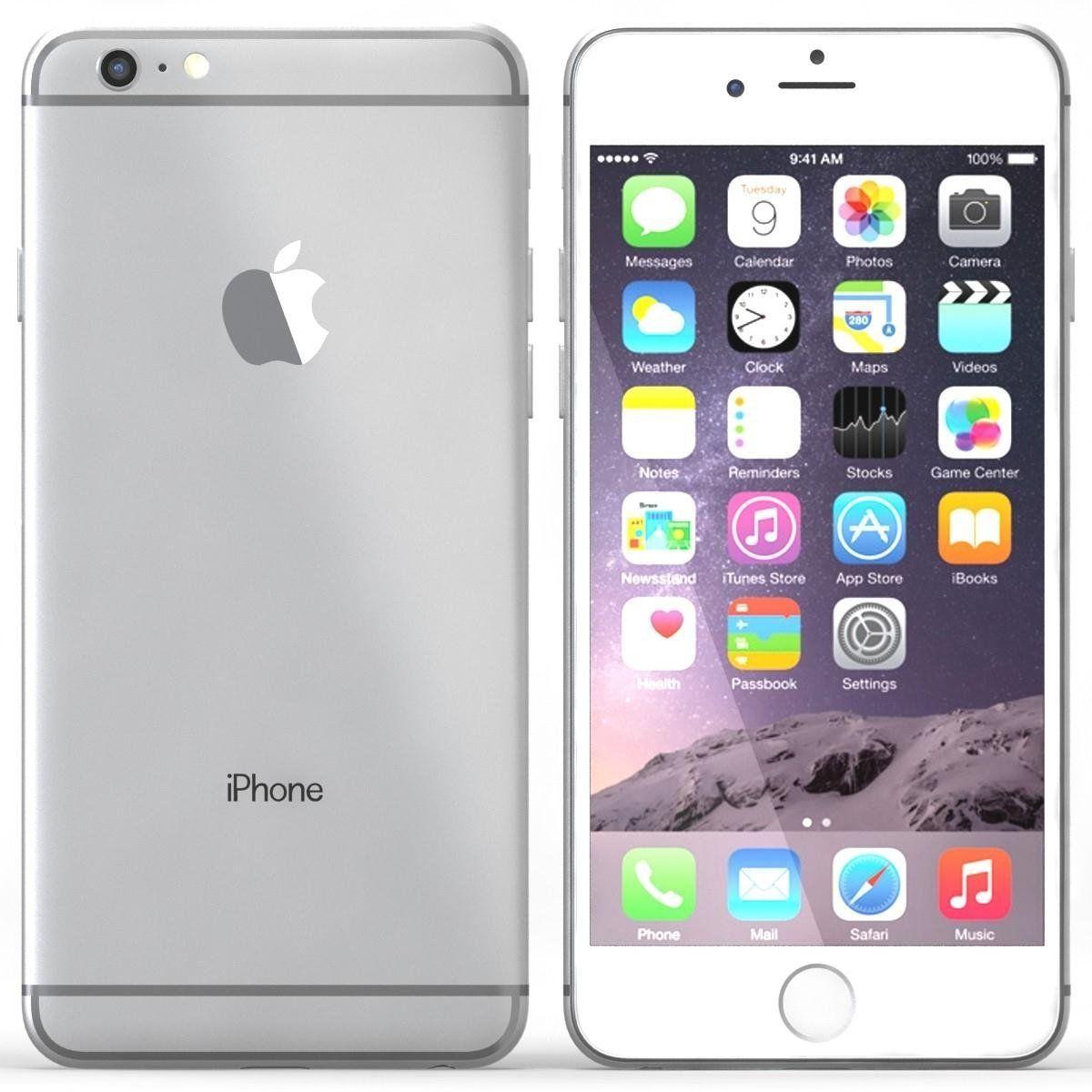 Apple Iphone 6 Plus Space Gray 128gb Unlocked Smartphone Certified Refurbished Apple Iphone 6 Apple Mobile Apple Iphone 6s Plus
