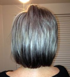 42++ Grey hair with black lowlights ideas in 2021