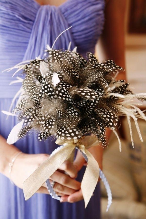9 Non-Floral Wedding Bouquet Alternatives | Floral wedding ...