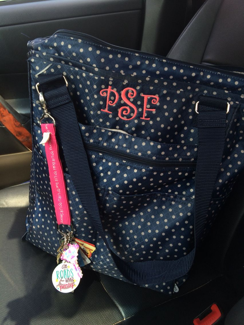 843a00dbc930 Loving the Take Two Tote!! It has about a zillion pockets