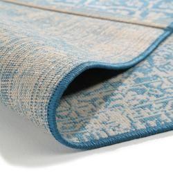Photo of benuta Teppich Antique Blau 240×340 cm – Vintage Teppich im Used-Look benuta