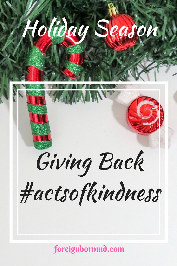 Holiday Season, Giving Back, #actsofkindness | Thankful, Christmas ...
