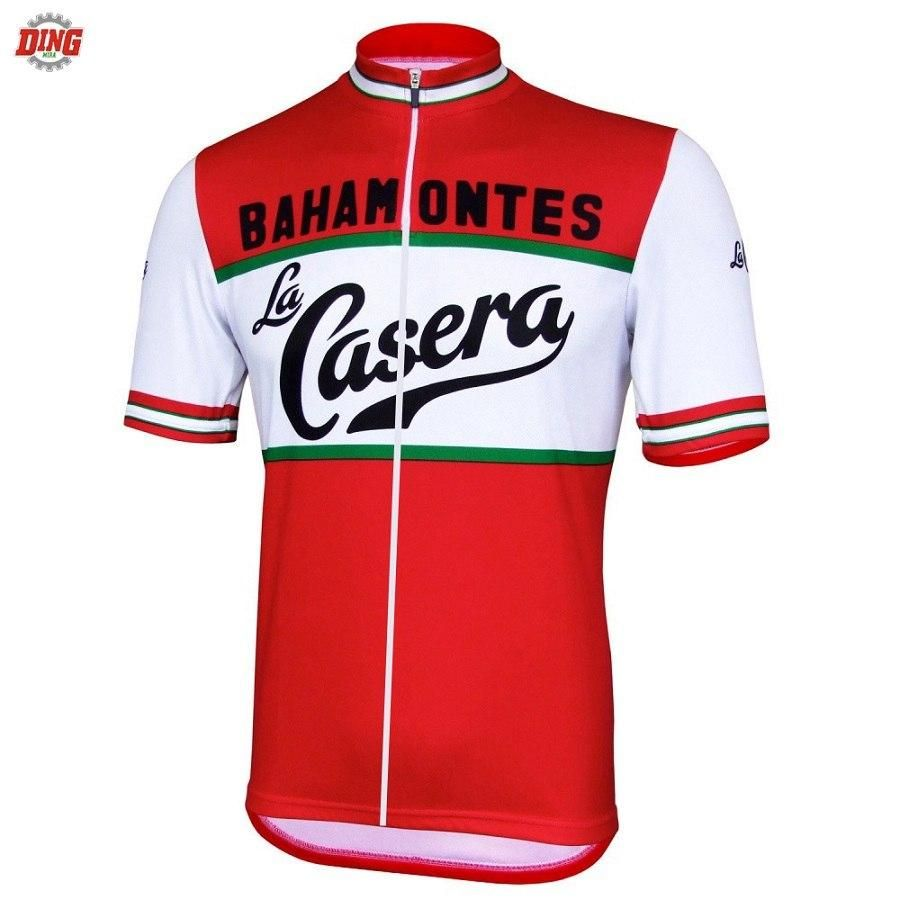 Men Short sleeve Cycling jersey ropa ciclismo La Casera classic cycling  clothing team bike wear Breathable Retro clothes MTB be541b455