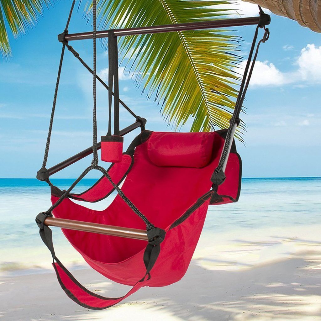 canvas indoor portable leasure hammock household outdoor hanging dormitory chair comfortable cradle item