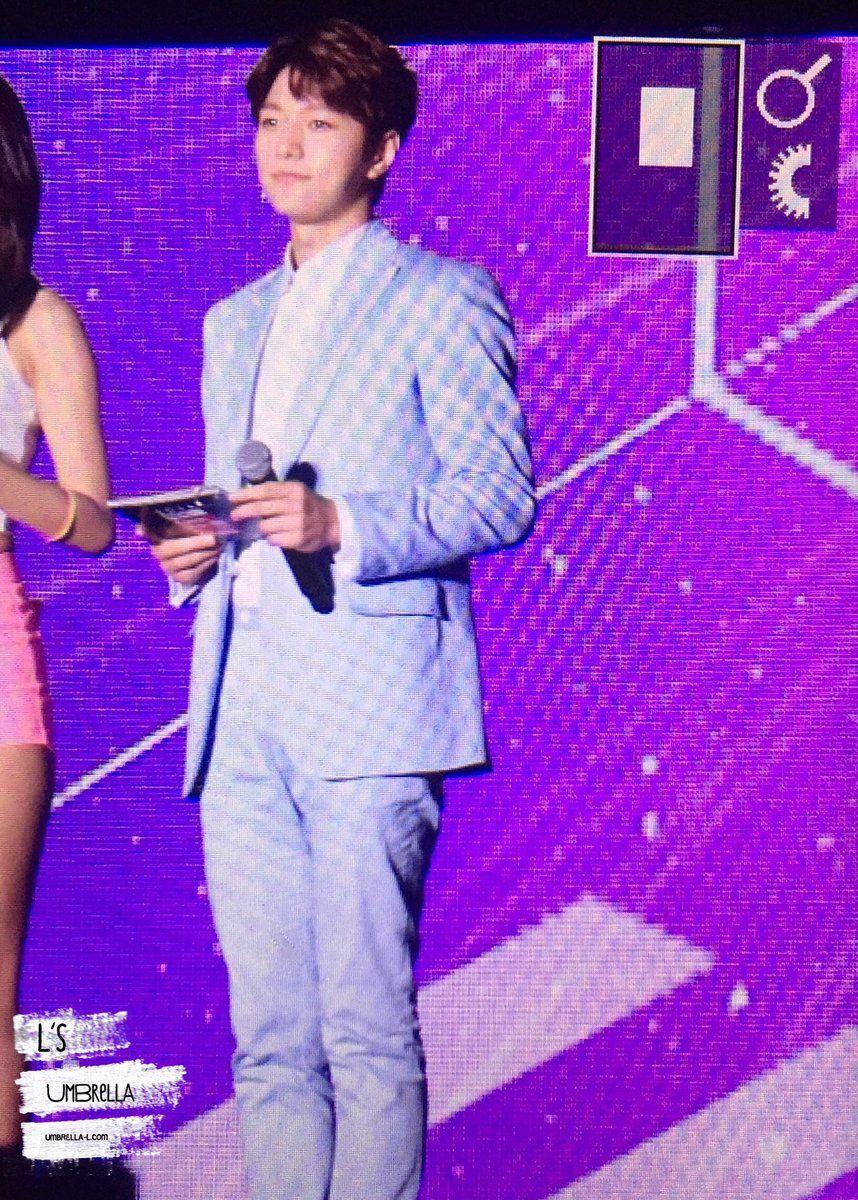 160730 MBC MusicWave in FUK #명수 #엘 우리 엘엠씨!🙆🏻 https://t.co/6tX93kekDA