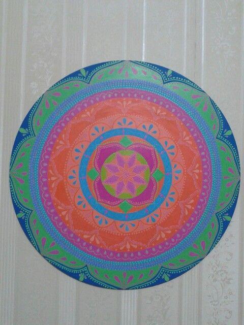 Mandala.!!! Colores ♥♥