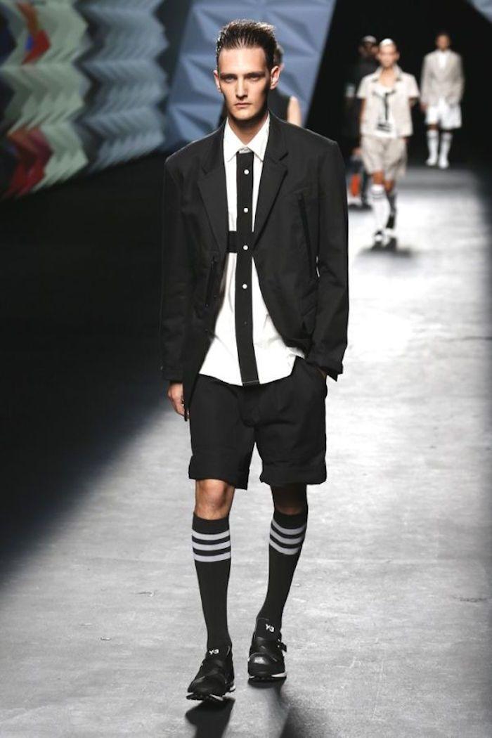 Assez Comment porter la chaussette haute pour homme | Chaussettes hautes  VK04