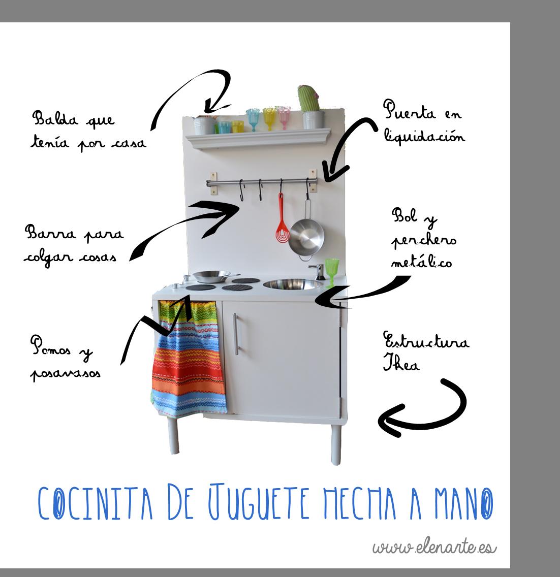 cocinita de juguete hecha a mano | COCINA INFANTIL | Pinterest ...