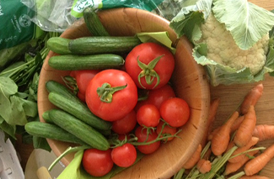 Order a fruit and veg box!