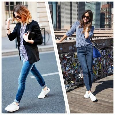 23 looks inspiradores con zapatillas blancas, ¿te apuntas