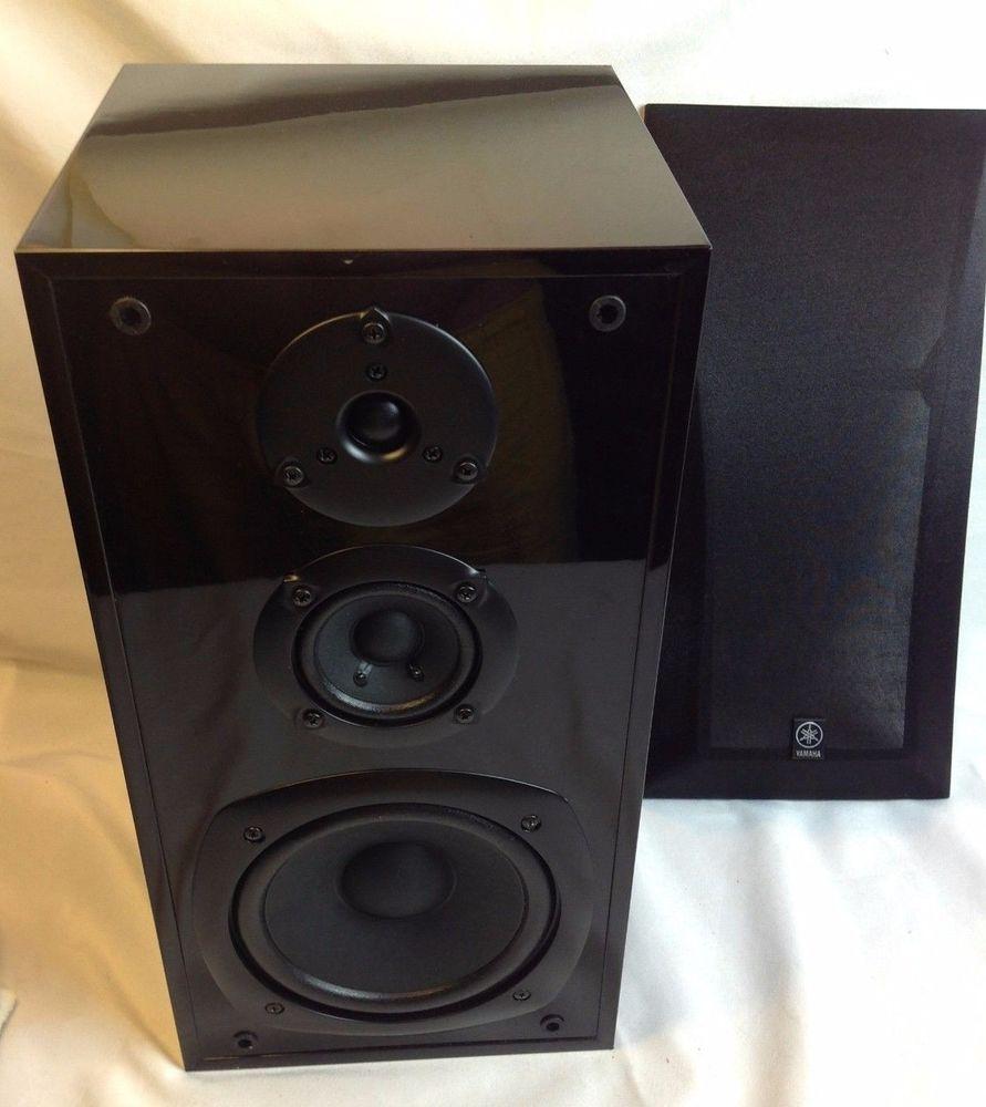 YAMAHA NS AP4400M 1 Single Black Surround Stereo Speaker W Bracket Yamaha